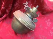 Hinks Patent Paraffin Or Oil Lamp Burner And Font Used Condition
