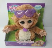 Furreal Friends - Baby Cuddles - My Giggly Monkey Pet - Ages 4 And Up - Working