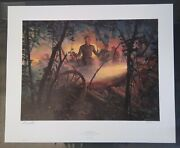 Eye Of The Storm Civil War Print By Mort Kunstler Signed Numbered And Coa