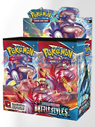 New Sealed Pokemon Sword And Shield Battle Styles Booster Box 36 Packs - Fast Ship