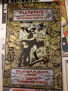 Flatstock 2 Poster Signed By All Artists Kozik Yeates Curley Perkins Austin Rare