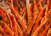 4 Lbs Super Colossal Red King Crab Legs- Item 4-7 Approx 2 Legs In 4 Lbs