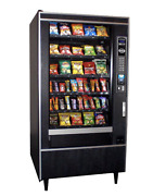 National Vendors 167 Snack Vending Machine 5-wide W/ Sure Vend Free Shipping