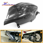 Motorcycle Carbon Transmission Cover Heat Insulation For Vespa Sprint 150 17-20