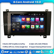 Android 10 Car Stereo For Mercedes Slk Class R171 W171 Carplay 8 Core Radio 4g