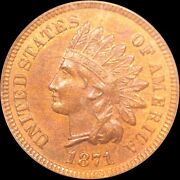1871 Indian Head Cent Shallow N Discovery Piece Anacs Ms 64 Rb Snow 5 Rarity