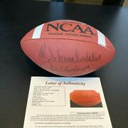 Bo Schembechler And Jim Harbaugh The Team The Team Signed Ncaa Football Jsa Coa