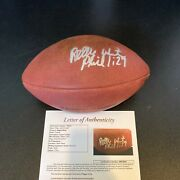 Reggie White Signed Official Wilson Super Bowl Xxxi Game Football With Jsa Coa