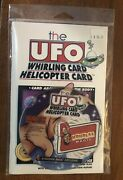 Houdiniand039s Magic Trick The Ufo Whirling Card Helicopter Card New Sealed Wdvd