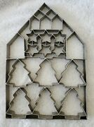 Hearth And Hand ☆ Giant Cookie Cutter Sheet ☆ Magnolia Star Tree House Christmas