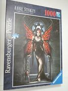 Ravensburger Puzzle Anne Stokes Collection Gothic Butterfly 1000 Piece 2009