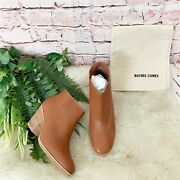 Rachel Comey Mars Leather Nautral Ankle Booties Womens Size 6