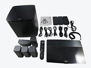 Bose Lifestyle 600 Home Entertainment System Works With Alexa -black Vg
