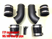 New Ftp Sg71376 Intake Charge Pipe Cooling Kit For Bmw M5/m6 S63 Engine Turbo