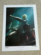Mass Effect - Thane - Lithograph Signed And Numbered 487/500 - 18x24