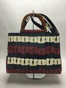 Leather Animal 2way Hand Bamboo Leather Shoulder Bag From Japan
