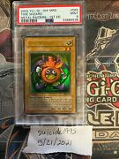 Yugioh 2002 1st Edition Time Wizard Psa 9 Graded Mint