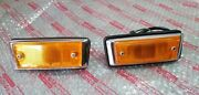 Toyota Celica Ta221974 Side Turn Signal Lamps Lh+rh Genuine Parts Nos Japan