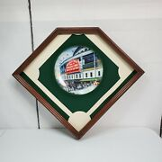 Wrigley Field Take Me Out To The Ballgame 1st Issue Collectible Framed Plate