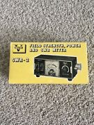 New/vintage Vanco Field Strength Power Swr And Meterswr-2 In Box
