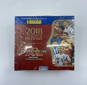 2018 Panini Adrenalyn World Cup Russia 24 Pack Factory Sealed Box Mbappe Rc Yr