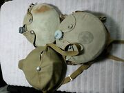 Vintage Bsa Official Mess Kit 1960's Cooking Kit And 2 Canteens W/strap