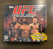 2009 Topps Ufc Round 2 Hobby Box Includes 2 Autographs And Relics, Rare