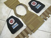 Fenrir Chest Rig Plate Carrier Coyote + Hesco L210 Special Threat Level Iii Set
