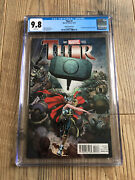 Thor 1 Jane Foster Becomes Female Thor 9.8 Cgc Nycc Comic Con Edition