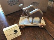 Henn Workshops Noahand039s Ark Collectors Series 2000 Camels Pull Toy W/ Box