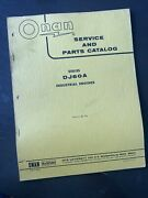 Onan Service And Parts Catalog Dj60a Series Industrial Engines Manual Book Guide
