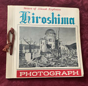 Rare Vintage 1952 Hiroshima In Pictures Book Purchased In Japan Original Owner