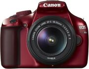 Secondhand Canon Eos Kiss X50 Lens Red Camera Slr Popularity Recommended