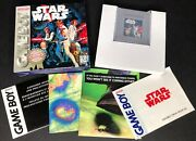 Star Wars For Original Game Boy Complete In Box Cib Manual And Inserts Gameboy