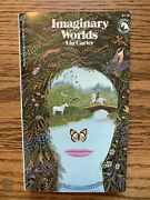 Signed Lin Carter Imaginary Worlds First Edition Pbo Ballantine Adult Fantasy