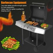 Stainless Steel Lpg Gas Grill Bbq Machine Grilling Tools For Home Restaurant Use