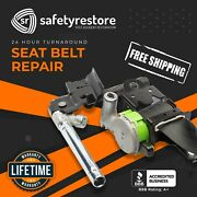 For Jeep Wrangler Triple-stage Locked Seat Belt Repair Service After Accident
