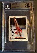 Simone Biles Signed 2014 Si For Kids Rookie Card Rc Auto Beckett Bgs Rare