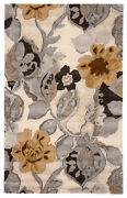 Jaipur Living Petal Pusher Handmade Floral Multicolor/ White Area Rug 9and039x12and039