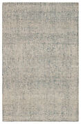 Jaipur Living Oland Handmade Abstract Blue/ Light Gray Area Rug 9and039x12and039