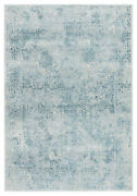 Jaipur Living Yvie Abstract Blue/ Teal Area Rug 10and039x14and039