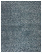 Jaipur Living Teyla Handmade Dotted Blue/ Gray Area Rug 9and039x12and039