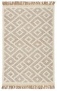 Jaipur Living Rigel Natural Trellis Cream/ Taupe Area Rug 10and039x14and039