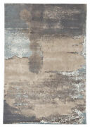Jaipur Living Ionian Abstract Gray/ Blue Area Rug 5and0393x7and0396