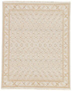 Jaipur Living Kiruna Hand-knotted Trellis Gold/ Light Gray Area Rug 6and039x9and039