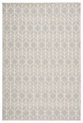 Jaipur Living Galloway Indoor/ Outdoor Chevron Gray/ Cream Area Rug 8and0399x12and0395