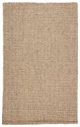 Jaipur Living Oceana Natural Solid Light Gray/ Tan Area Rug 9and039x12and039