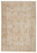 Jaipur Living Baptiste Oriental Taupe/ Cream Area Rug 9and0396x12and0396