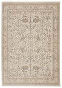 Jaipur Living Valentin Oriental Cream/ Light Gray Area Rug 9and0396x12and0396