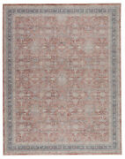 Jaipur Living Brinson Oriental Red/ Gray Area Rug 7and03910x9and03910